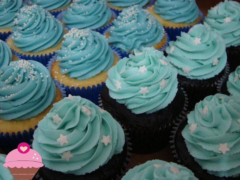 Um Dia Do Azul E O Outro Do Rosa Cute Cakes Confeitaria Artistica