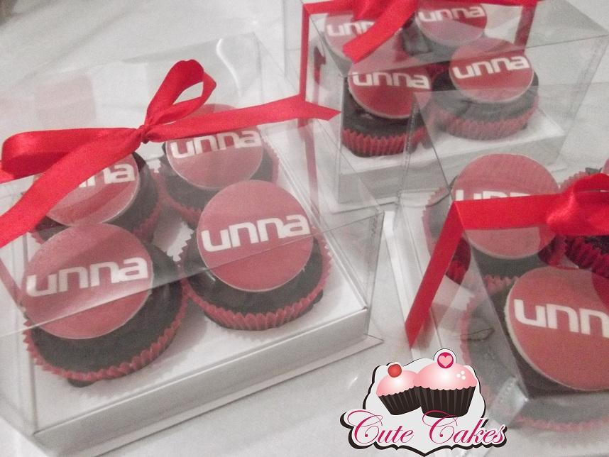 Logotipo De Empresa Cute Cakes Confeitaria Artistica