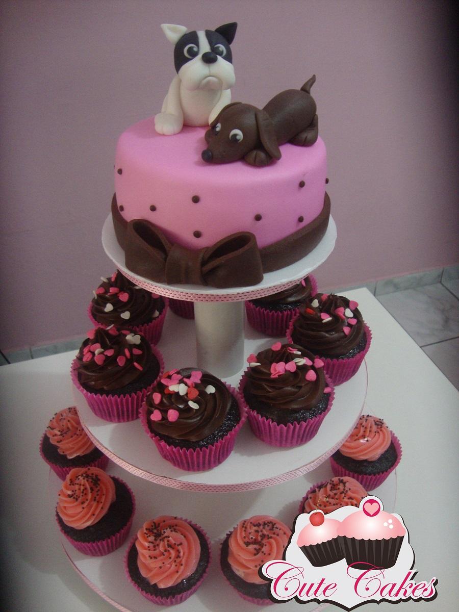 Cachorrinhos De Estima 231 227 O Cute Cakes Confeitaria Art 237 Stica