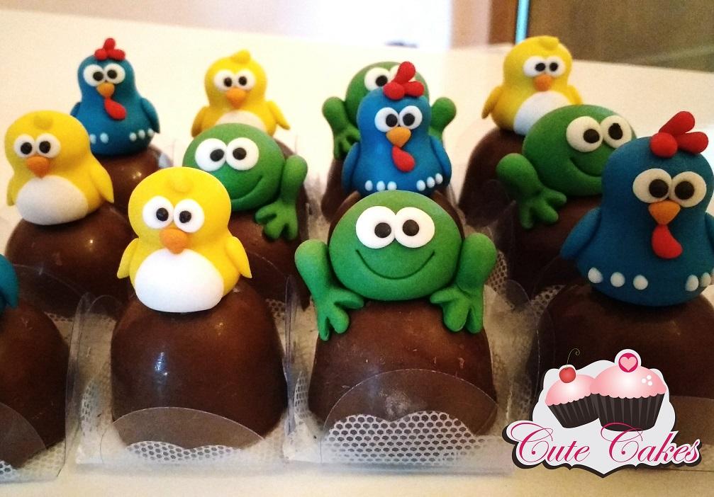 Galinha Pintadinha Cute Cakes Confeitaria Artística