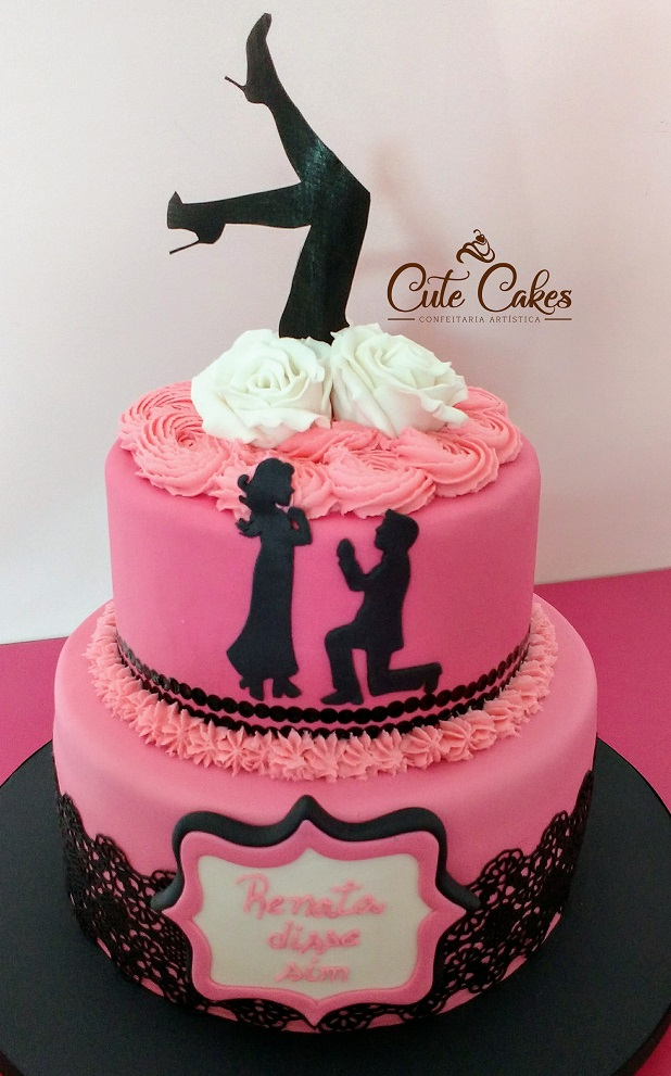 783cdc21e Chá De Lingerie | Cute Cakes Confeitaria Artística